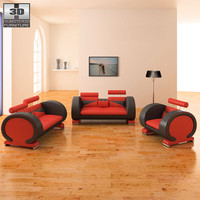 Living Room 4 Set