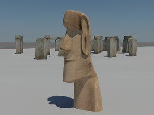 3ds max stonehenge