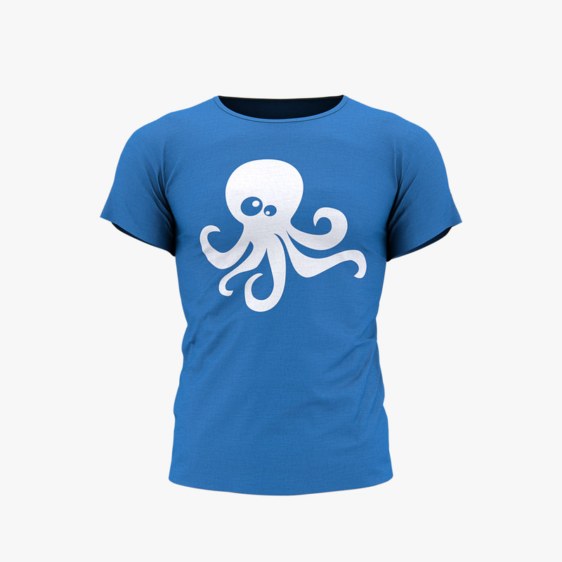 3d realistic t-shirt