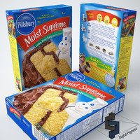 Pillsbury Moist supreme Golden Butter Cake Mi