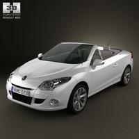 3d model renault megan 2011