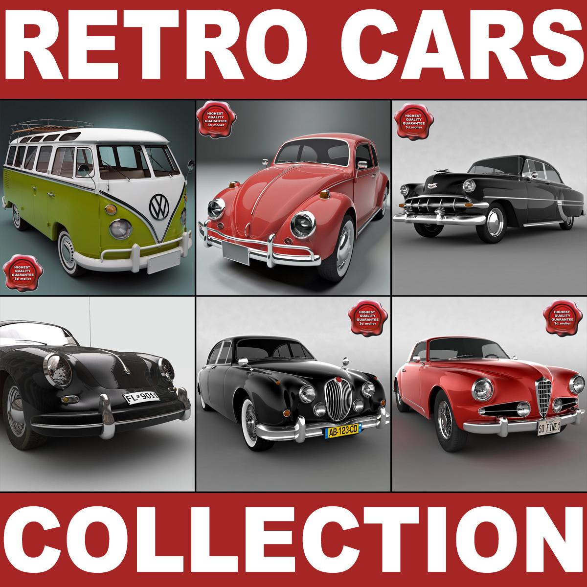 3ds max retro cars v7
