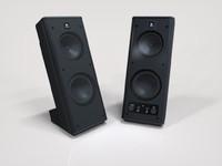 3ds max logitech x-140 speakers