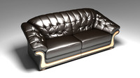 Photorealistic sofa