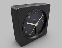 3d model travel alarm clock