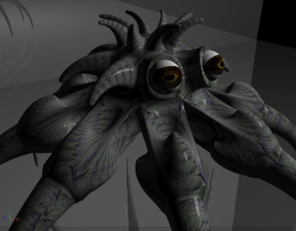 creature character monster c4d