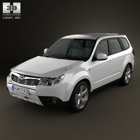 subaru forester 3d 3ds