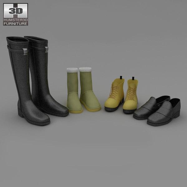 maya footwear set winter shoes