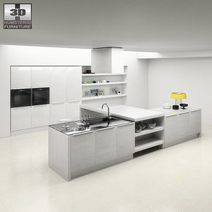 kitchen p3 set 3ds