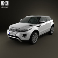 3d model range rover evoque