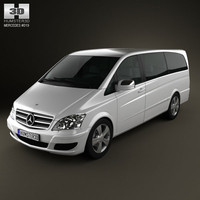 mercedes-benz viano mercedes 3d model