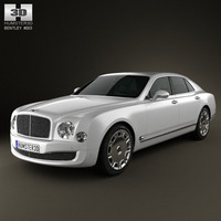bentley mulsanne 2011 3d 3ds
