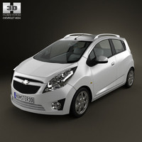 3ds max chevrolet beat car