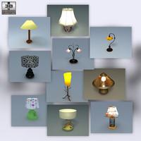 lamps set lw