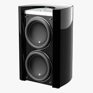 jl gotham g213 speaker 3d max