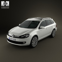 3ds volkswagen golf variant