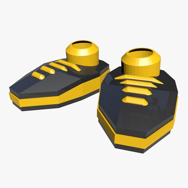 3d cartoon shoes