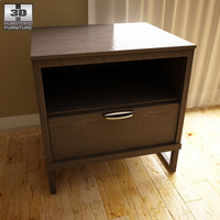 3d ashley sonya drawer night model