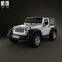 3d jeep wrangler rubicon model