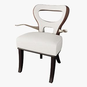 promemoria moka chair 3d max