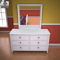3ds max ashley caspian panel dresser