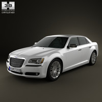 chrysler 300 2011 3d c4d