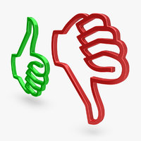 Thumbs Up & Down Icons 2