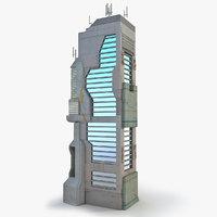 Sci Fi Building O Skyscraper