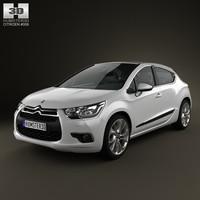 3d model citroen ds4 vehicle