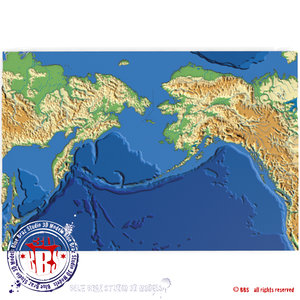 bering strait elevation 3ds