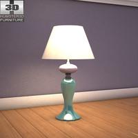 3d model ashley sandhill table lamp