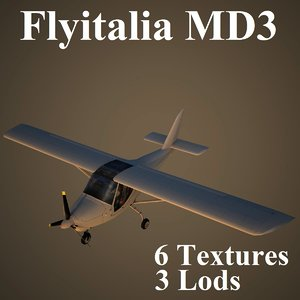 3ds max flyitalia md3 3