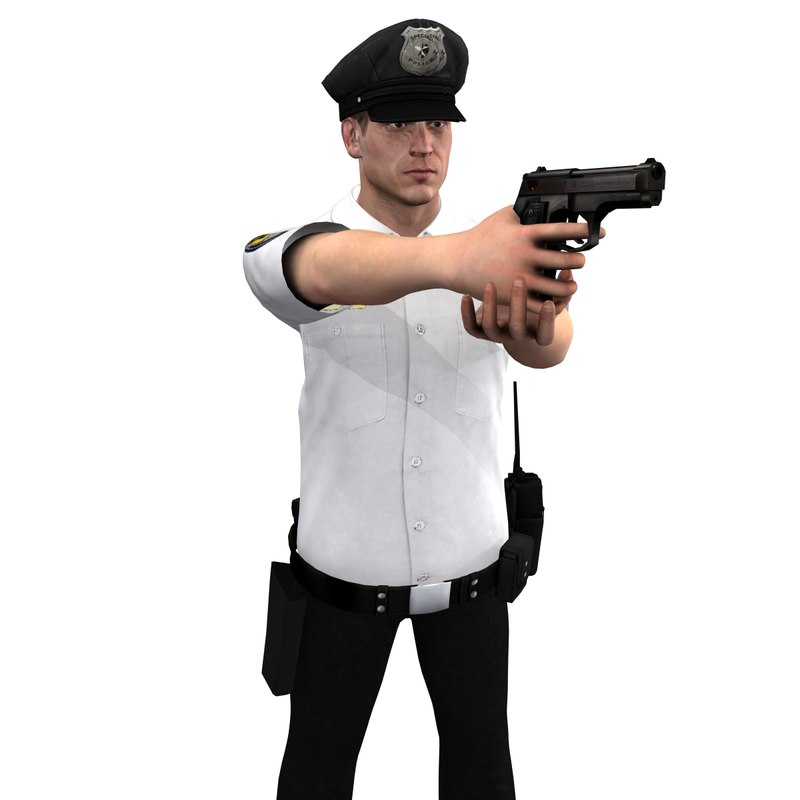 max rigged police officer