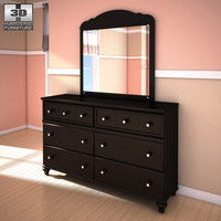Ashley Jaidyn Dresser & Mirror