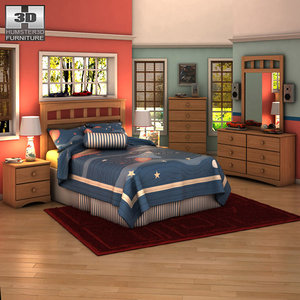 ashley benjamin panel bedroom max