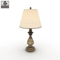 3d ashley cottage retreat table lamp