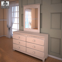 3d ashley cottage retreat dresser