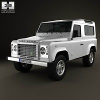 3d land rover defender 90