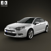 3ds max citroen c5 saloon