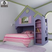 3d nursery room 05 set model