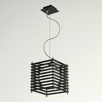 3ds max parallel square lamp materials