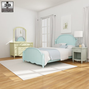 3ds bedroom furniture 19 set