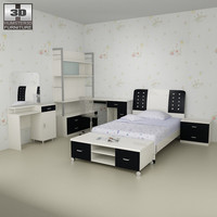 3dsmax nursery room furniture 06