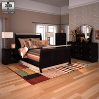 3ds ashley pinella sleigh bedroom