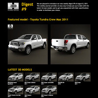 free digest 9 3d model