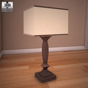 ashley laine table lamp 3d max