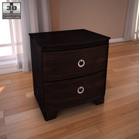 3d model ashley pinella nightstand