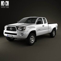 3d toyota tacoma 2011 model