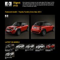 free digest 10 3d model