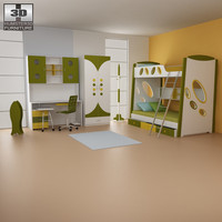 nursery room 07 set 3d max